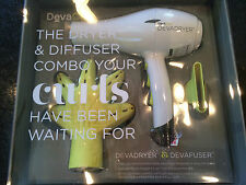 DEVACURL DEVA CURL HAIR BLOW DRYER WITH DEVA FUSER DIFFUSER COMBO