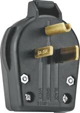 NEW COOPER WIRING S42-SP UNIVERSAL ANGLE POWER PLUG 30/50 AMP 250 VOLT 6409478