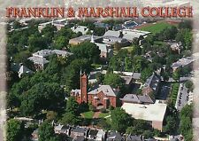 Franklin & Marshall College, Lancaster, Pennsylvania, Campus Aerial --- Postcard