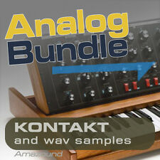 NORD LEAD 2 + MIMIMOOG SAMPLE BUNDLE for KONTAKT .nki INSTRUMENTS & WAV FILES