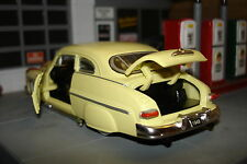 1949 Mercury Old School Custom Hot Rod, Rare Yellow Version, 1/43, O Scale