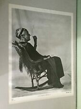 vintage poster grass roots america granny smoking marijuana joint rocking chair