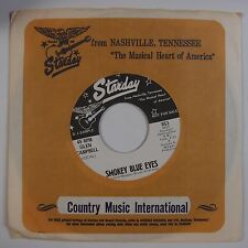 GLEN CAMPBELL: Smokey Blue Eyes / For Love of Woman STARDAY Country 45 NM-
