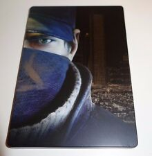 WATCHDOGS - PS4 PLAYSTATION 4 GAME - RARE STEELBOOK SPECIAL EDITION -