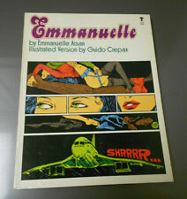 EMMANUELLE by E Arsan & Guido Crepax GROVE Press 1st Edition SC Softcover