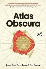 Atlas Obscura by Joshua Foer Hardcover Book   NEW Free Post AU