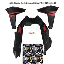ABS Plastic Body Fairing Kit for Yamaha FZ 09 MT-09 MT09 14-15 Fluorescent RED