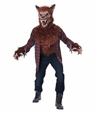Adult Men or Women CURSE OF THE WEREWOLF Costume Brown Wolf Sz XL (44-46) New
