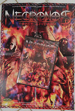 NECRONOS - TOWER OF DOOM - DVD UNCUT MOVIES + POSTER - HORREUR - GORE