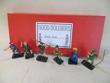 'GOOD SOLDIERS' 'ROBIN HOOD' METAL FIGURES BOXED SET. MIB 1:32/54mm