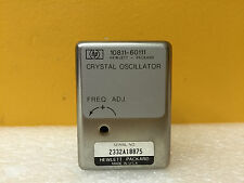 HP /Agilent 10811-60111, 10.000 MHz, Precision Quartz Crystal Oscillator. TESTED