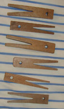 Antique Wood Clothespins Clothes Pins Pegs Wooden Hand Made Vintage Old American