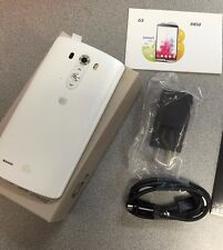 Unlocked LG G3 D850 32GB Silk White AT&T Excellent LCD. 100% Functional Pls Read