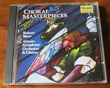 Choral Masterpieces - Robert Shaw - Mint 1985 Cd Album