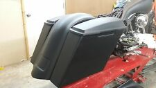"5 1/2 ""Stretched Saddlebags & Fender  for Touring Harley Davidson Bagger FLH"