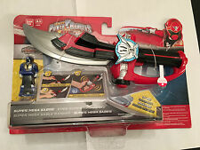 Power rangers Super megaforce saber with blue ranger key new in sealed packaging