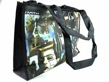 LADIES GIRLS RETRO FUNKY OLD STYLE PICTURE HANDBAG SHOULDER TOTE HOBO SHOPPER