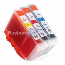 3 COLOR CLI-8 Ink Tank for Canon PIXMA MX700 IP3300 IP3500 CLI-8C CLI-8M CLI-8Y