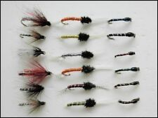 18 Trout Fishing Flies, Emergers,Epoxy Buzzers, Thoraxed Buzzers, mixed Size