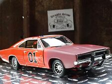 Ertl American Muscle Dukes Of Hazzard 1969 Dodge Charger 1:18 Scale Barn Find