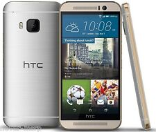 "HTC ONE M9 Silver (FACTORY UNLOCKED) 5"" Full HD , 20.7 MP , 32GB  , 3GB RAM"