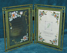 LOVELY METAL PICTURE PHOTO FRAME W/TEA LIGHT HOLDER AND GRANDMOTHER VERSE! NEW!