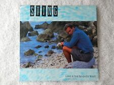 """Sting """"Love Is The Seventh Wave/The Dream Of The Blue Turtles"""" PS 45 RPM Record"""