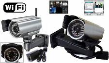 IP Camera WiFi,telecamera esterno,led infrarossi,sensore movimento,audio,colori