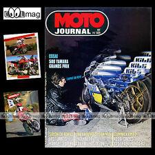 MOTO JOURNAL N°531 HVA HUSQVARNA 430 'TOUR DE FRANCE', YAMAHA 1100 XS TURBO 1981