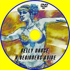 BELLY DANCE BEGINNERS / ADVANCED GUIDE SIMPLE DANCING TUITION NEW FITNESS DVD