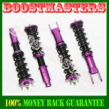 For 92-00 Civic 93-97 Del Sol 94-01 Acura Integra Coilover Suspension Kit PURPLE