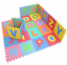 XL LARGE ALPHABET PLAY MAT BABY KIDS SOFT EVA FOAM JIGSAW PUZZLE FLOOR NUMBER