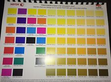 PANTONE COATED COLOR SIMULATION CHART/DESIGN TOOL 4 Graphic Designers & Pressman