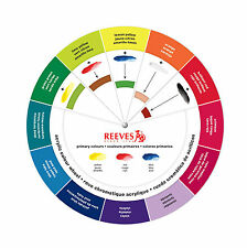 Reeves Acrylic Colour Wheel - Artist's Paint Mixing Guide