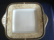 Wedgwood Cornucopia deep eared sandwich plate (very minor scratches)