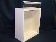"""6""""x 8""""x 2.5""""  PINE Shadowbox (PLEXIGLAS) Unfinished Wood Display Box Handmade"""