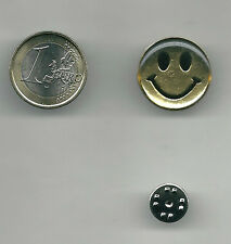 Spilla metallo Smaltata Smile, Pin enamel Smile 2 x 2 cm.