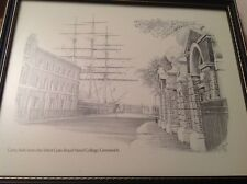 F/G Print Cutty Sark From The West Gate Royal Naval College Greenwich R Brown