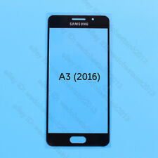 Black Front Lens Glass Touch Screen For Samsung Galaxy A3 A310F A310M (2016)