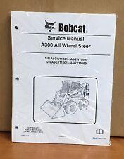 Bobcat A300 ALL WHEEL Skid Steer Loader Service Manual Shop Repair Book 6986684