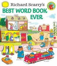 Richard Scarry's Best Word Book Ever Giant Golden Book
