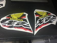 600 XR 400 XR200 XR250 XR400 XR600 FUEL graphics DECALS STICKERS GAS TANK