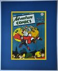 ADVENTURE COMICS 113  Pin up Poster Matted Frame Ready DC XMas