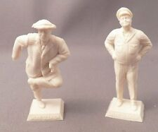 Marx Reissue 60mm Jackie Gleason Figure Lot Set of Two