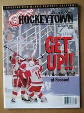 "Red Wings Inside Hockeytown Program ""Get Up!"" Playoffs 1997 Stanley Cup Year"