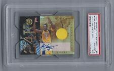 KOBE BRYANT Autograph Game Used 2010 gold standard 24k Graded PSA 8.5  # 08/49