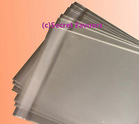 Clear Cello Bags for Greeting Cards and Prints   Plastic Cellophane Peel & Seal