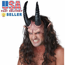 California Costumes Devious Demon Horn Mask Accessories Halloween Cosplay 60280