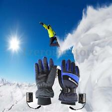 Motorcycle Outdoor Electric Heated Gloves Hands Warmer Rechargeable 2pcs attery