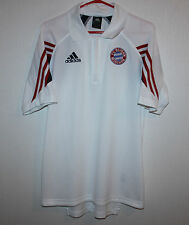 Bayern Munich Germany training polo zip shirt Adidas
